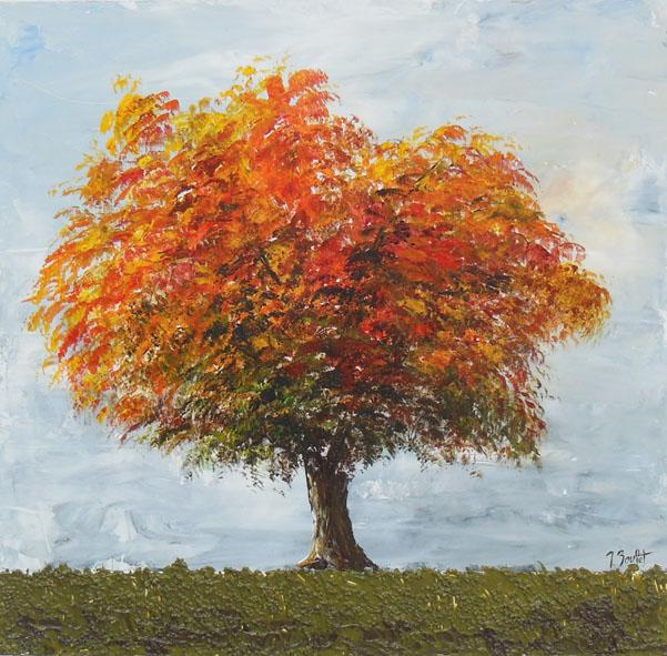 Arbre en automne (vendu)