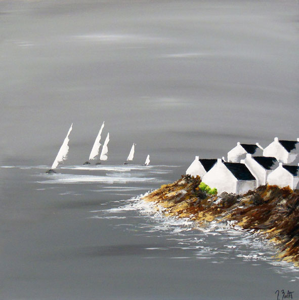 Voiles bretonnes (vendu)