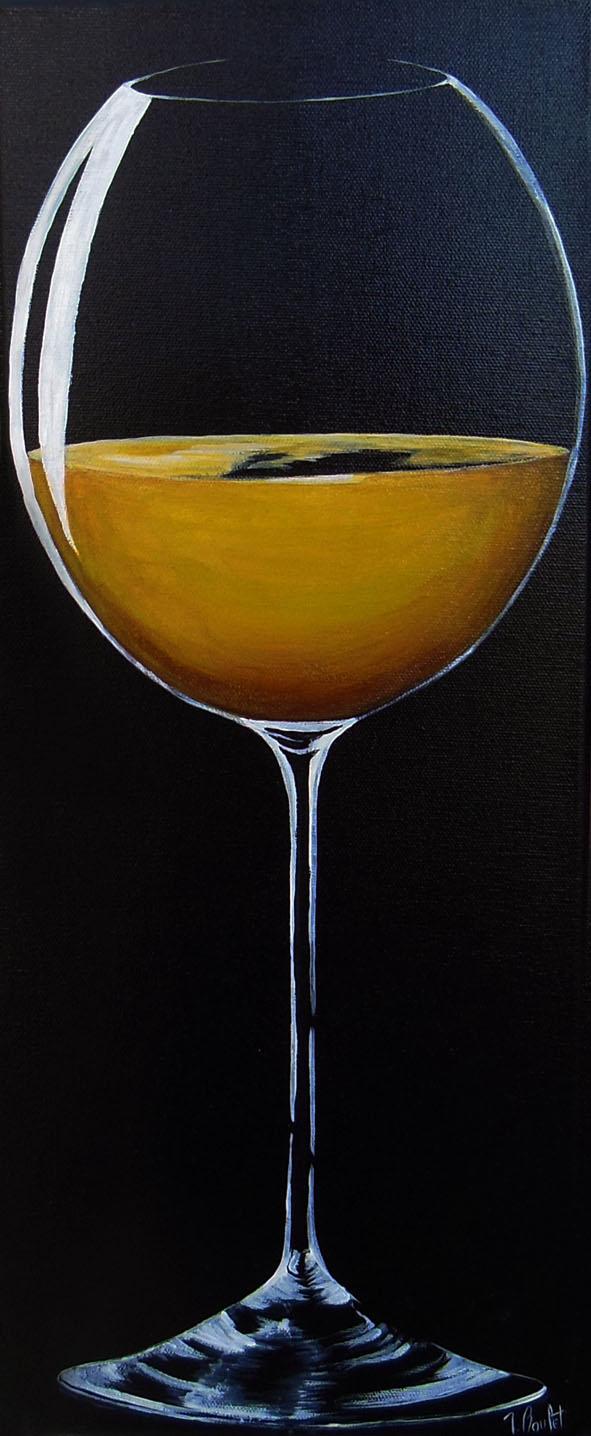 Verre de vin blanc (vendu)