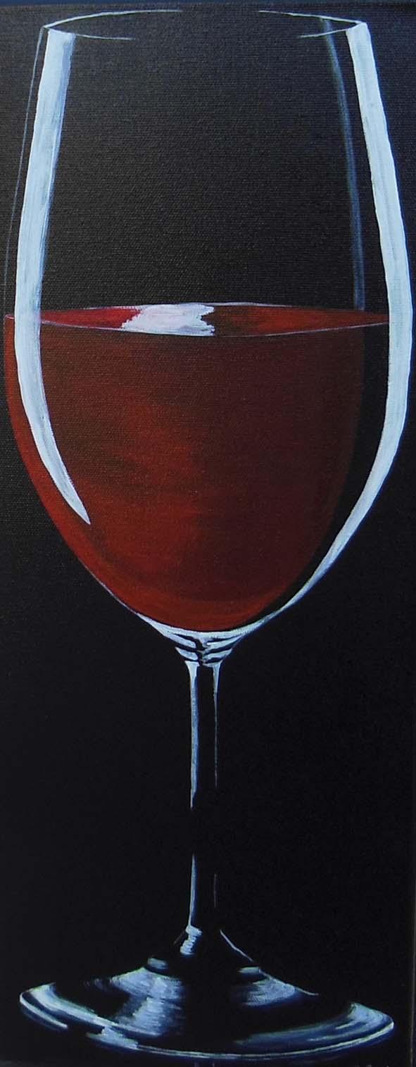 verre de vin rouge (vendu)