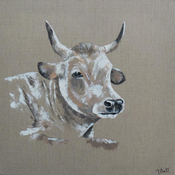 Vache au naturel (vendu)