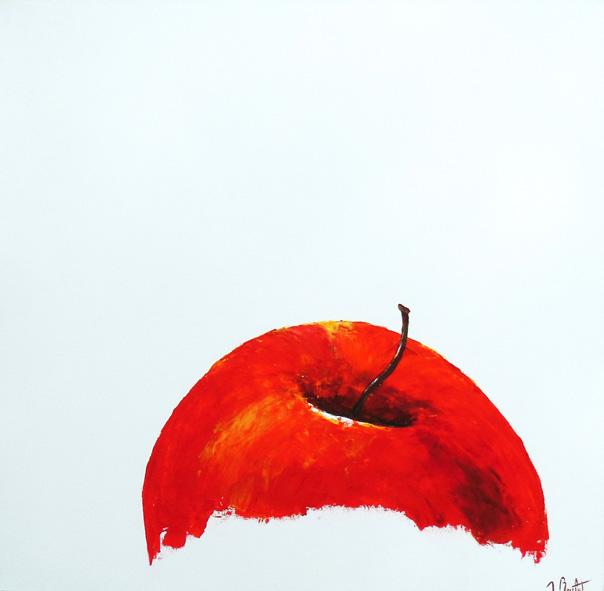 Pomme rouge XXL (vendu)