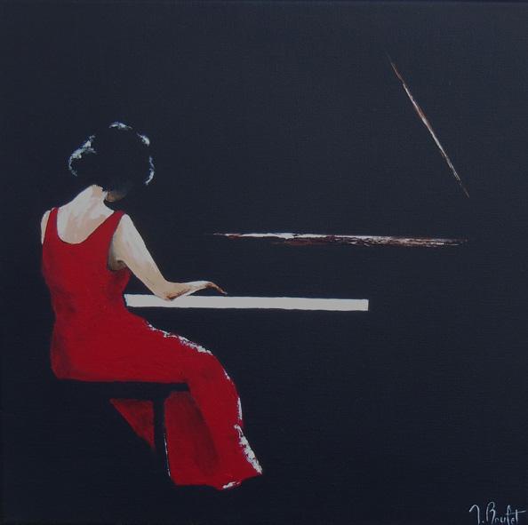 La pianiste (vendu)