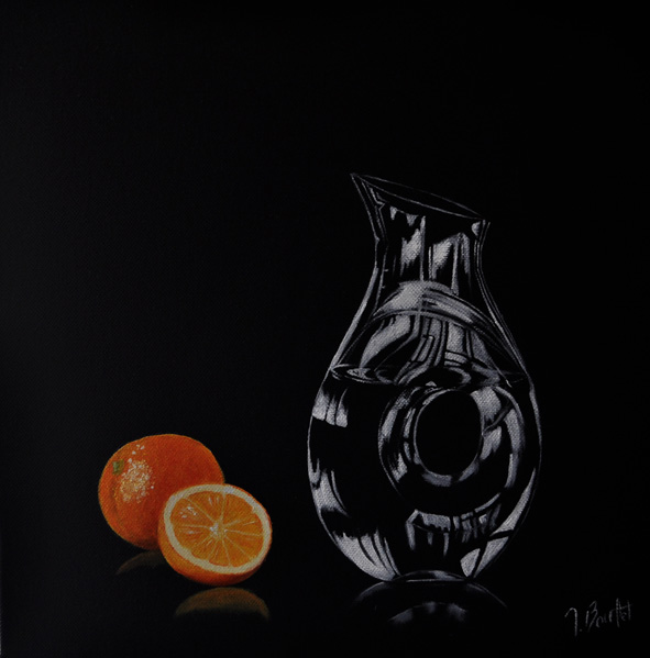 Carafe et orange (vendu)