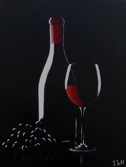 Vin et raisin (vendu)