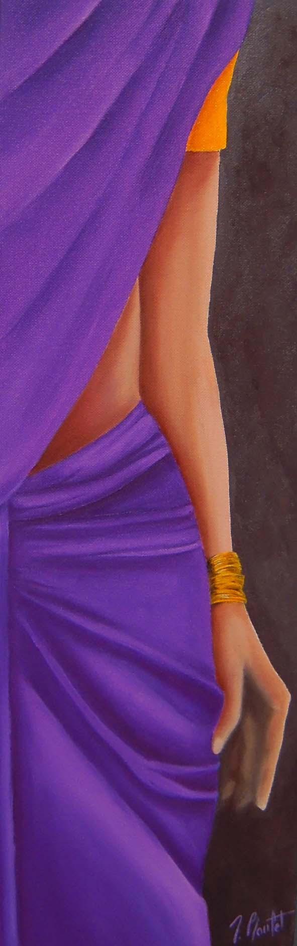 Sari violet